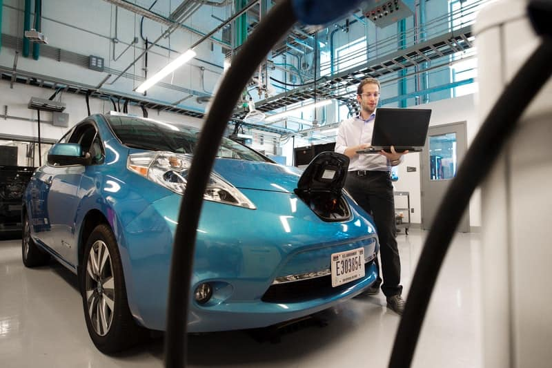 electric cars parts